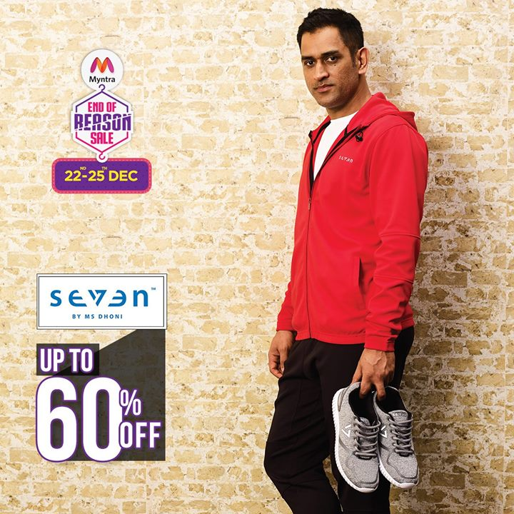 Shop Seven in the end of reason sale at Myntra. Hurry and grab your pair of Seven NOW!!