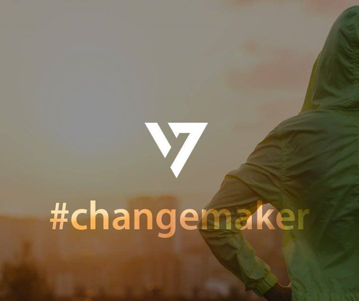 The world changes one day at a time. What can happen in seven? #Changemaker www.7.life @TheSevenLife_