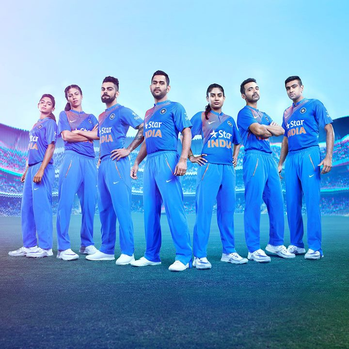 Looking forward to wearing the new Team India jersey