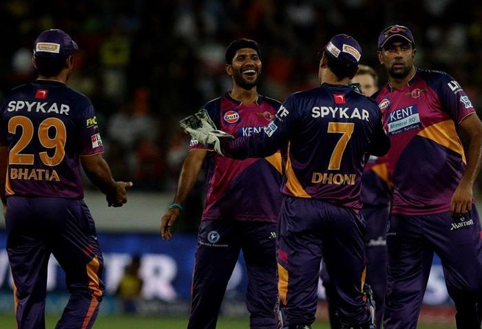 An important win last night for Rising Pune Supergiants.