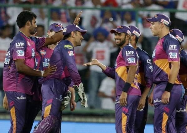 A well-earned victory last night for Rising Pune Supergiants.