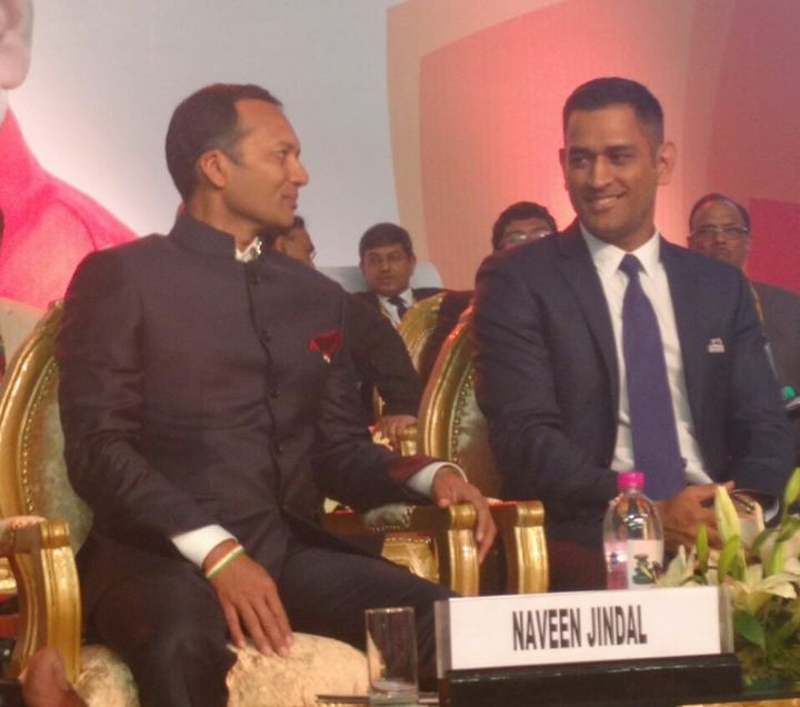 At the inaugural ceremony of #MomentumJharkhand Global Investors Summit 2017.
