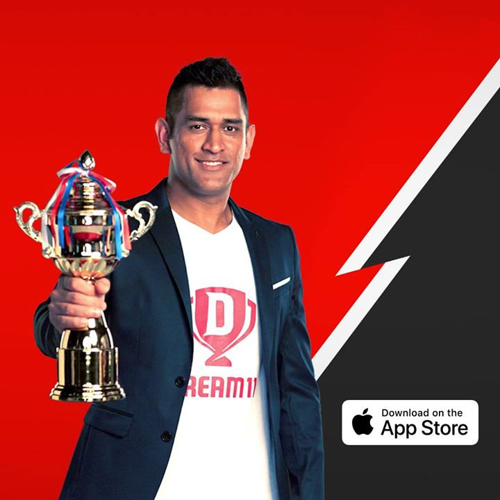 Dream11 has been featured on the App Store, and we are loving it. This T20 season, check out our app on the #AppStore.  Download karo aur bano #DimaagSeDhoni  https://itunes.apple.com/in/app/dream11-fantasy-sports-cricket/id1077286074?mt=8