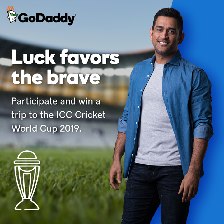 Ab Indian team sunegi aapki commentary, LIVE!  Want to join me in the UK and cheer for Team India? Here's how you can do it! Take part in 'GoDaddy's Greatest Playoff' to win an all-expense-paid trip to ICC Cricket World Cup 2019.  Do it now: http://bit.ly/2GzYpxi