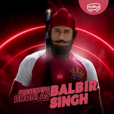 Doesn't #BalbirSingh look like me? That's because it is me 😉 Together with #redBus, we are about to add some more magic to bus travel. Stay tuned for my new ad, coming soon... redBus