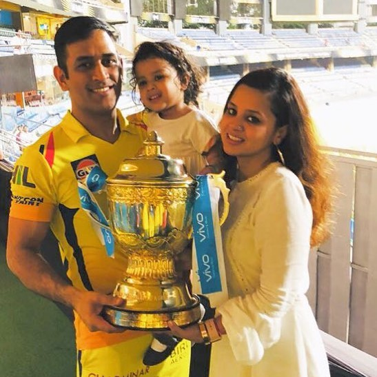 Thanks everyone for the support and Mumbai for turning yellow.Shane 'shocking' Watson played a shocking innings to get us through.end of a good season.Ziva doesn't care about the trophy, wants to run on the lawn according to her wordings.