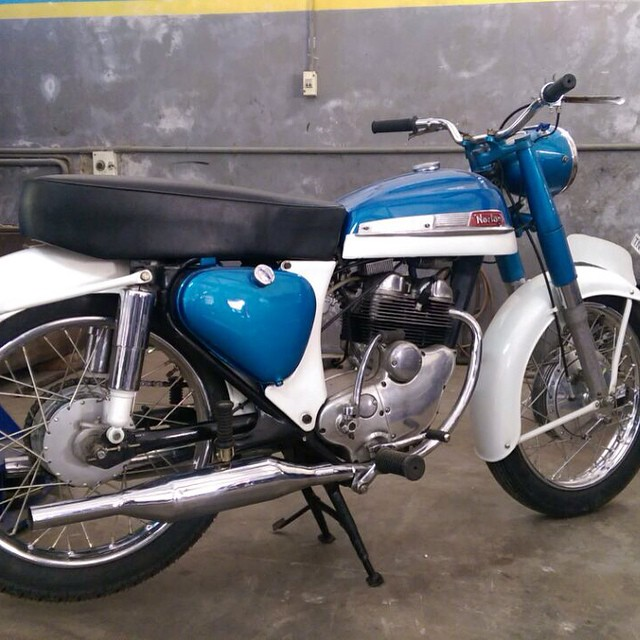 This norton is almost ready for me,thanks to my friend