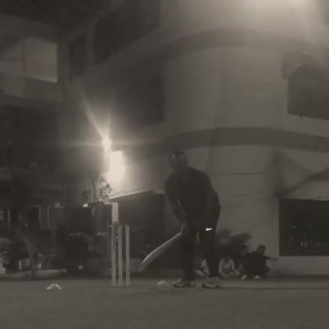 Wen U know what's coming and start the camera and u get it in the nxt 1min, sorry for the bad light but it's the lingo that's fun trial ball, umpires decision last decision.brings back memory from school days.he wd have never accepted this ever happened if v didn't have this video.all of us have witnessed this at some point of time in cricket.enjoy