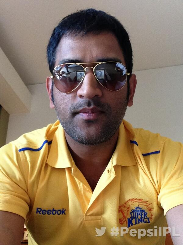 RT @IPL: My ( @msdhoni ) introduction to #TwitterMirror . India are you watching? @ChennaiIPL #whistlepodu #PepsiIPL http://t.co/2zPuIOLygI