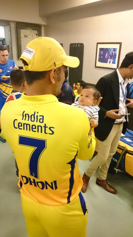 Stadium debut for ZIVA, her first time into the dressing room http://t.co/J3Aj9shKKx